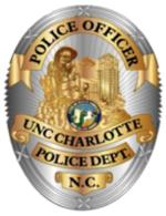 UNC Charlotte Police Badge